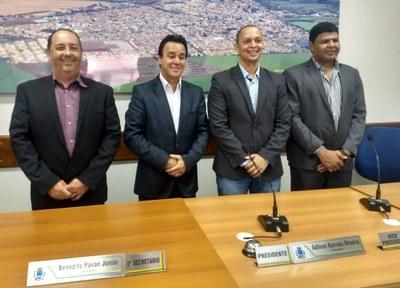 Eleita a nova Mesa Diretora da Câmara Municipal para o biênio 2019/2020
