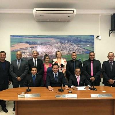 Câmara de Barrinha realiza sessão de posse dos vereadores eleitos e eleição da Mesa.