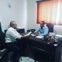 Presidente da Câmara recebe assessor do Deputado Estadual Welson Gasparini