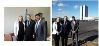 Vereadores vão a Brasília em busca de recursos para o Município.