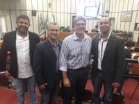 Vereadores de Barrinha participam do 04º Encontro do Parlamento Metropolitano da Região Metropolitana de Ribeirão Preto.